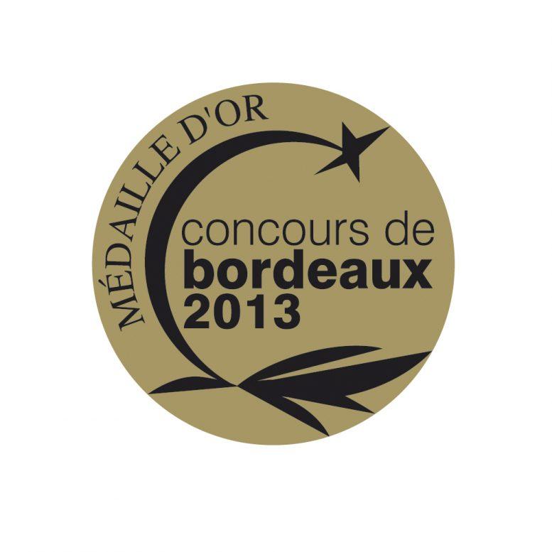 Médaille Or noir 2013